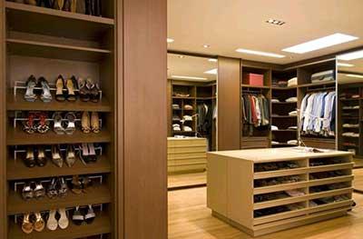 imagens de decoração de closets