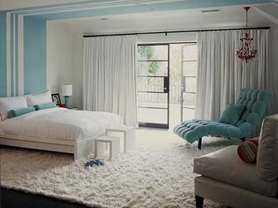 tapete para quarto felpudo super delicado