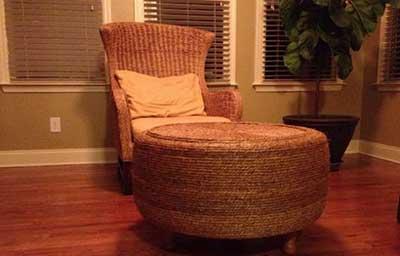 sofá e mesinha