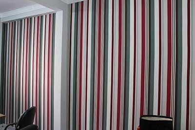 como decorar com tecidos