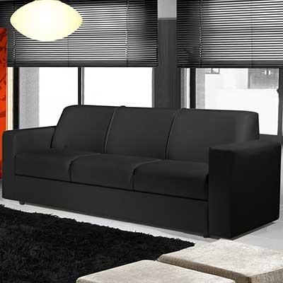 tendências de sofás pretos