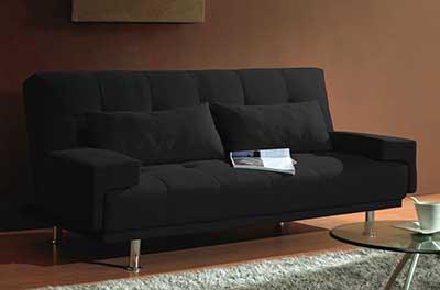 modelos de sofás pretos
