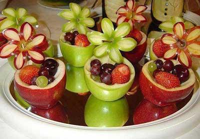 dicas para decorar com frutas