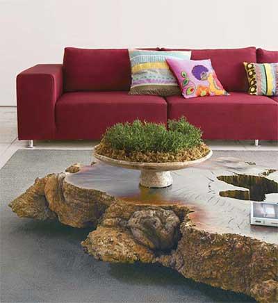 fotos de sofás vermelhos