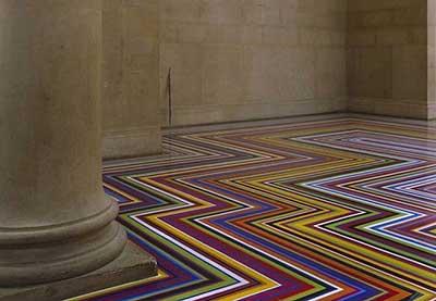 decoração de piso