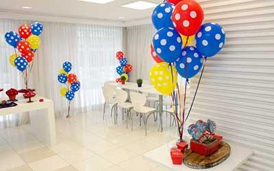 fotos de decoração de festa