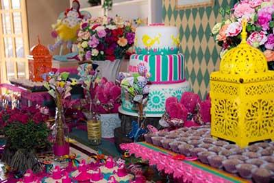 mesas decoradas de festas