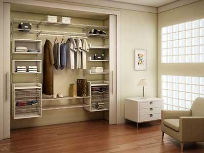 modelo de aramado para closet