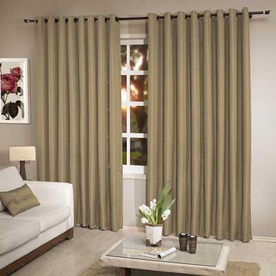 20 cortinas de var o duplo com argolas fotos modelos for Como poner ganchos de cortinas