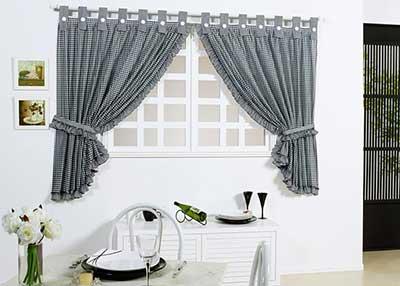Cortinas para cozinha fotos dicas modelos for Modelos de cortinas