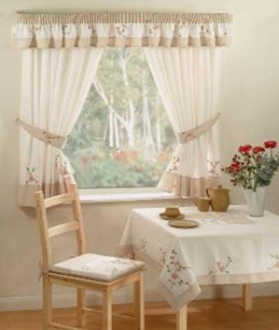 modelos de cortinas para cozinhas