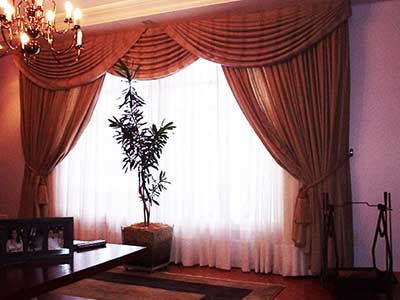 escolher cortinas para salas