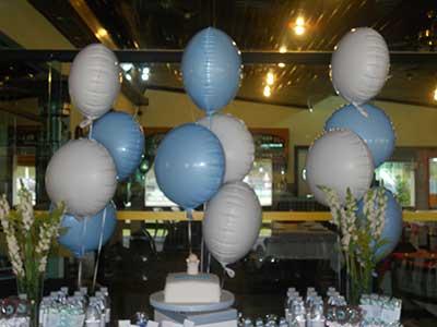 imagens de decoração com balões
