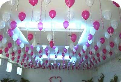 como decorar com balões