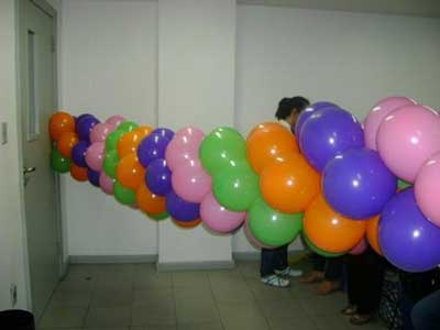 Fotos de decoração com bolas