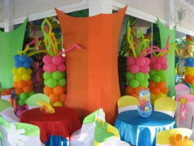 Modelos de decoração com bolas