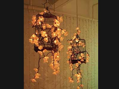 Fotos de decoração com gaiolas