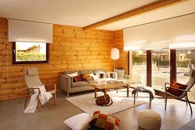fotos de decoração com madeira