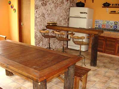 Imagens de decoração com madeira