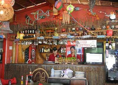 fotos de decoração de bar