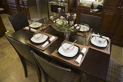 fotos de sala de jantar