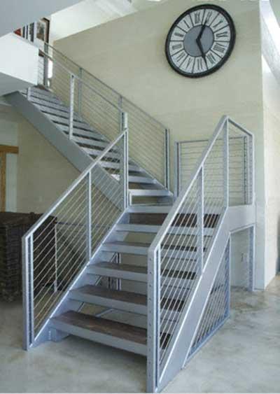 Fotos de escadas de ferro