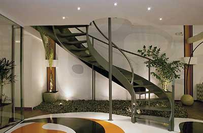 Imagens de escadas de ferro