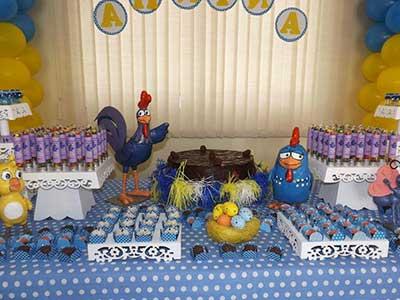 mesas da galinha pintadinha