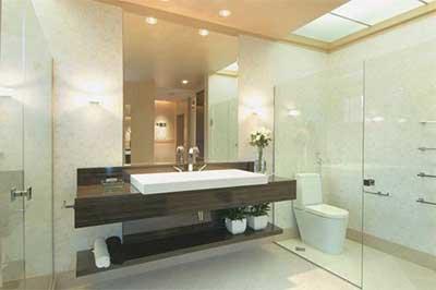 modelos de luminárias para banheiros