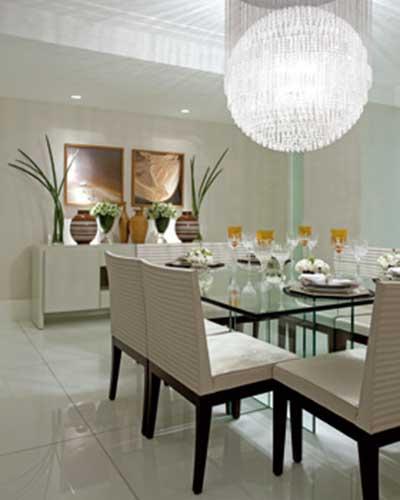 Sala De Jantar Decorada Com Fotos ~ 30 MODELOS DE LUSTRES PARA SALAS DE JANTAR