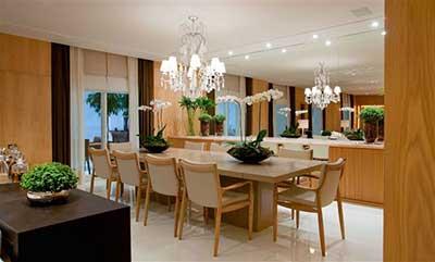 Fotos de lustres para sala de jantar