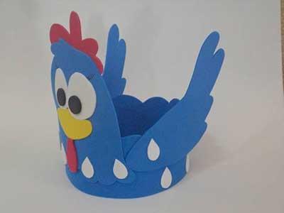 decoração da galinha pintadinha