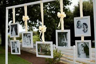 30 dicas de decora o simples para festas de anivers rio for Mural de fotos 1 ano