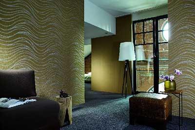 Paredes decoradas com texturas fotos e dicas - Pinturas especiales para paredes ...