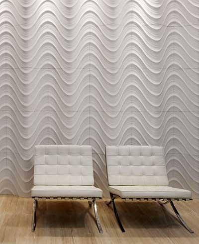 Paredes decoradas com texturas fotos e dicas - Textura pared ...