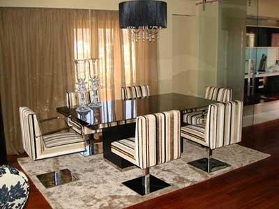35 tapetes para sala de jantar e estar quadrado e redondo for Sala de estar tapete