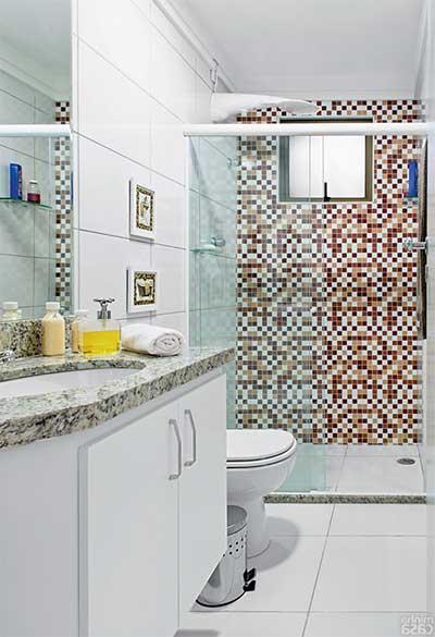 Adesivos para Decorar o Banheiro Fotos, Dicas, Imagens -> Banheiros Muito Simples