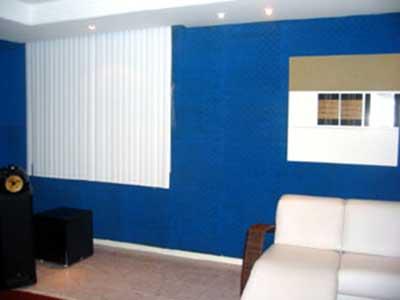 paredes azuis