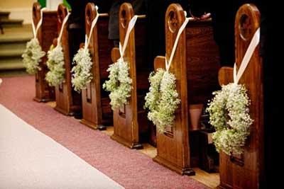 Como decorar igreja. Sem vasos? 1