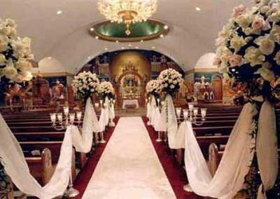 dicas de decoração de igreja