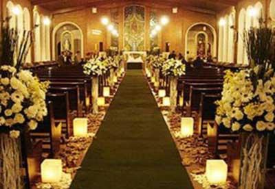 decorar igreja