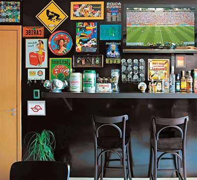 Decora o da bar e boteco fotos dicas imagens - Como decorar un bar pequeno ...