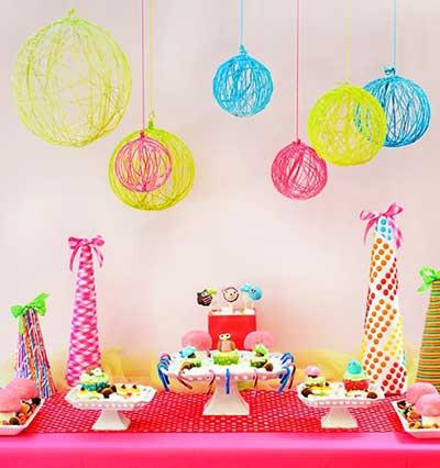 festa de aniversário simples