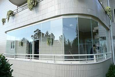 fotos de cortinas de vidro