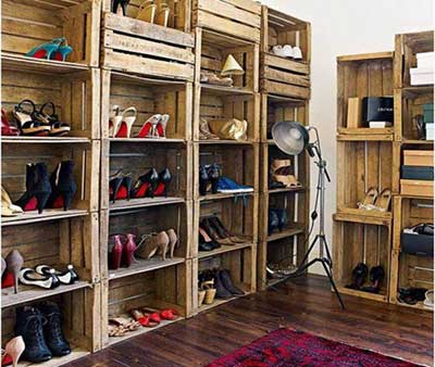 Como fazer decora o com madeira fotos e passo a passo for Closet rusticos