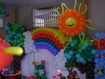 como decorar com bolas