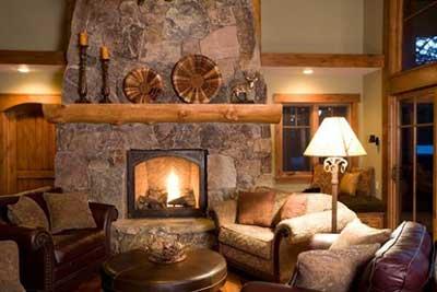 Casas r sticas decoradas fotos ideias dicas imagens - Imagenes chimeneas rusticas ...