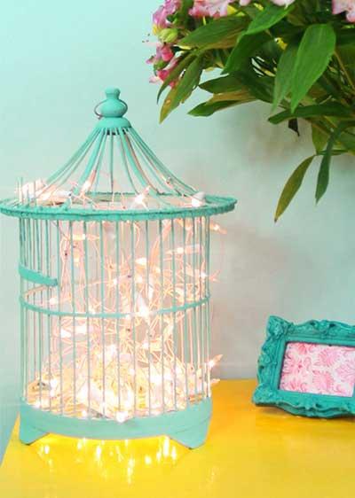 dicas de decoração com gaiolas