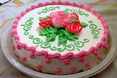como decorar bolos de chantilly