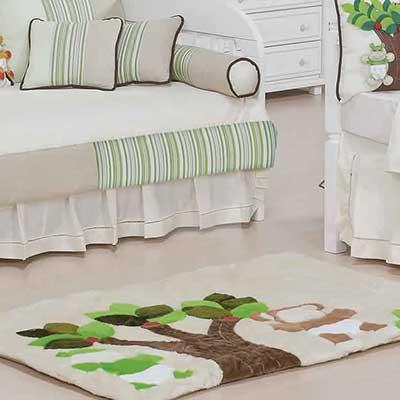 tapetes para quartos de bebê